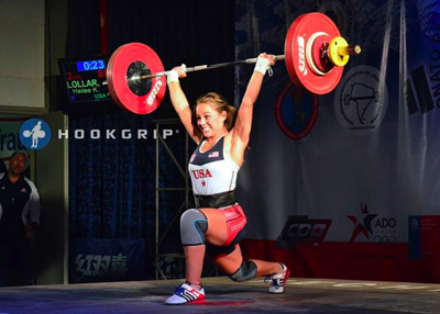 Redding Weightlifter And Olympic Hopeful Hailee Lollar