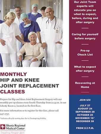 Hip And Knee Joint Replacement Classes