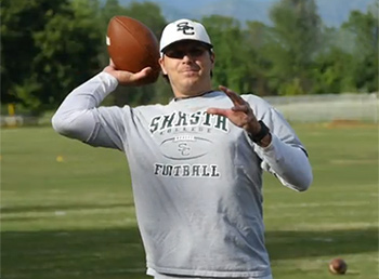 Shasta College Football Coach's Recovery Journey