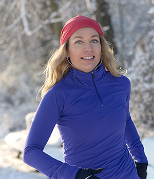 Exercise Outdoors In Winter