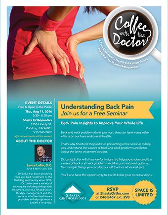 Understanding Back Pain Seminar