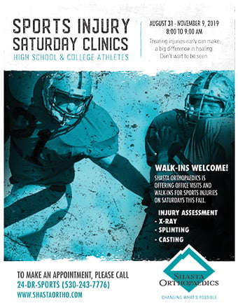 Clinics For Sports Injuries In Redding