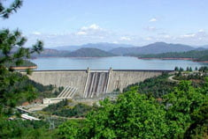 Shasta Dam In California