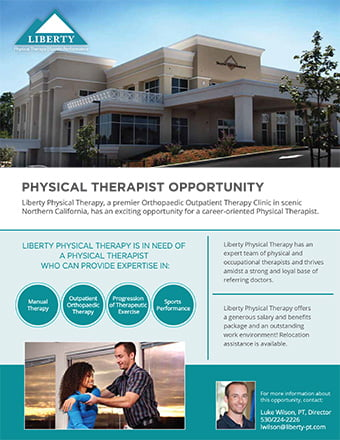 Physical Therapy Job In Redding