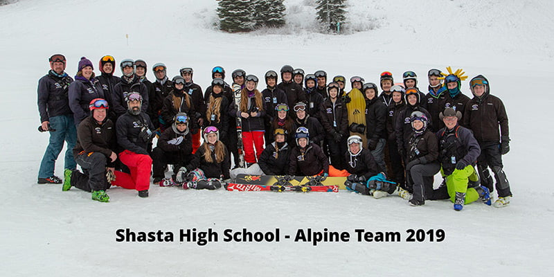 Shasta High School Snowboard Team Coaching