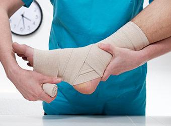 Ankle Sprain Help In Redding