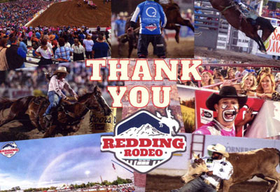 Shasta Ortho is a proud sponsor of the Redding Rodeo.